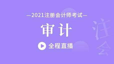 2021年注会审计习题强化班第十二讲